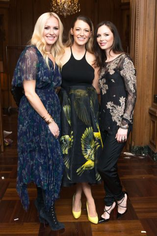 See who's sitting front row at New York Fashion Week: Kreen Carig, Blake Lively and Georgina Champman