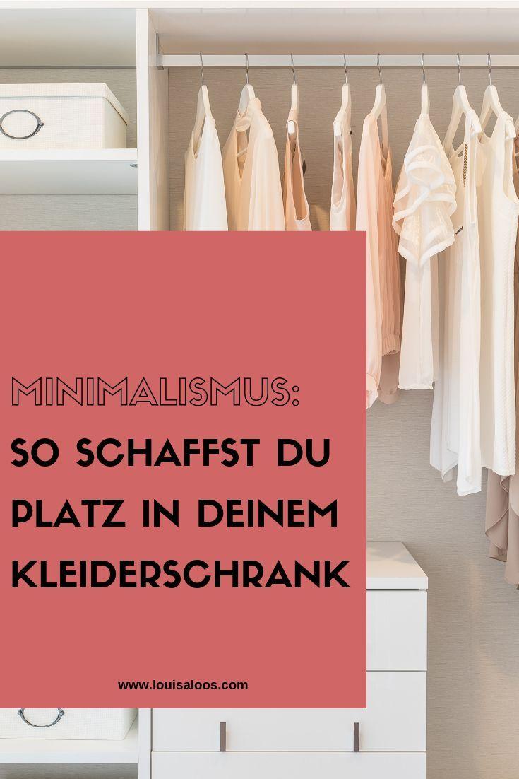 Kleiderschrank Aufraumen Leicht Gemacht In 2020 Kleiderschrank Minimalistischer Kleiderschrank Schrank