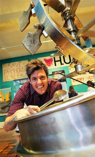 """MASTERCHEF finalist Ben Milbourne has a new role promoting high standards in Tasmanian tourism.    The Tourism Industry Council of Tasmania has appointed the popular local cook, one of the stars of the MasterChef Australia TV series, as the state's first """"accreditation ambassador.    Many operators within the Huon Valley Escapes group are already accredited, with several others part way through the process.    www.huonvalleyescapes.net"""