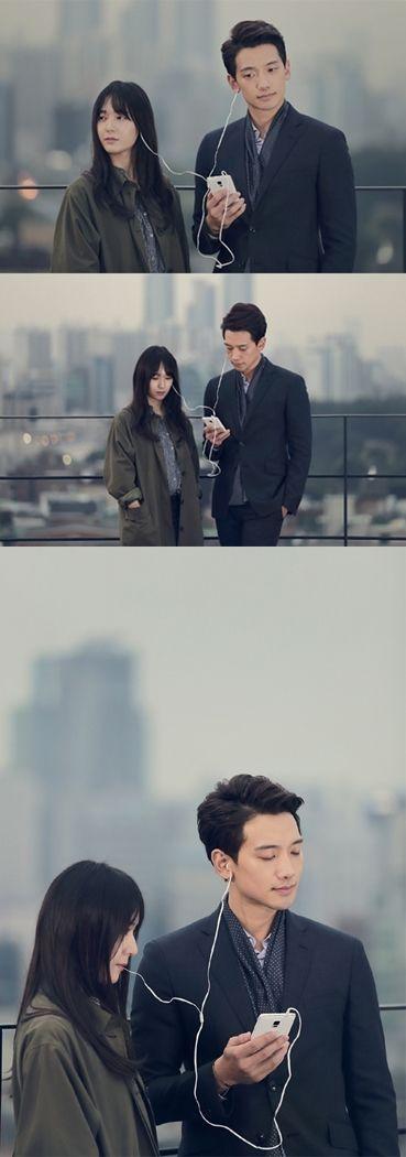 [article] Rain and f(x) Krystal Share Earphones for 'My Lovely Girl.'