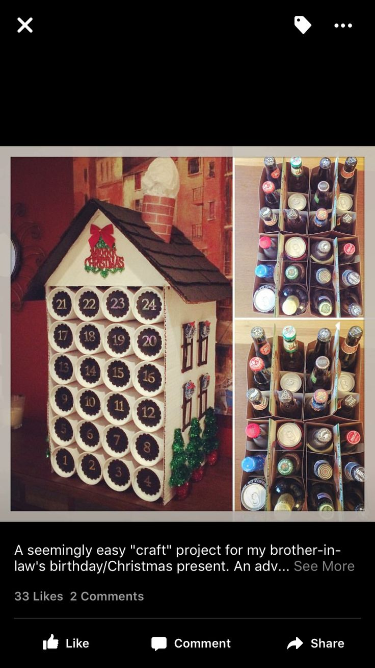 Calendar Ideas For Husband : Best beer advent calendar ideas on pinterest craft