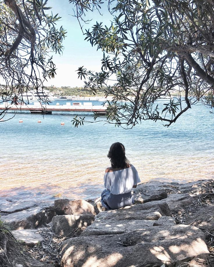 "Sardinia   ""By the sea 💙 #portocervo #sardinia #italy"""
