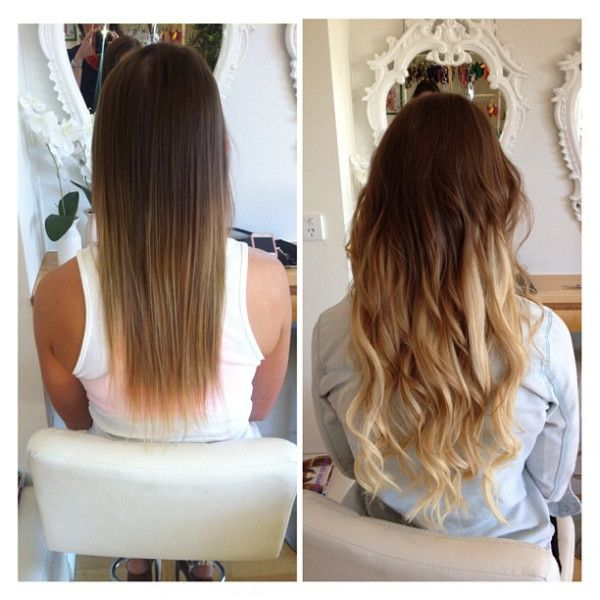 89 best remy hair extensions images on pinterest make up casual mid to long hair with extensions 8 613 micro loop before and after www pmusecretfo Images