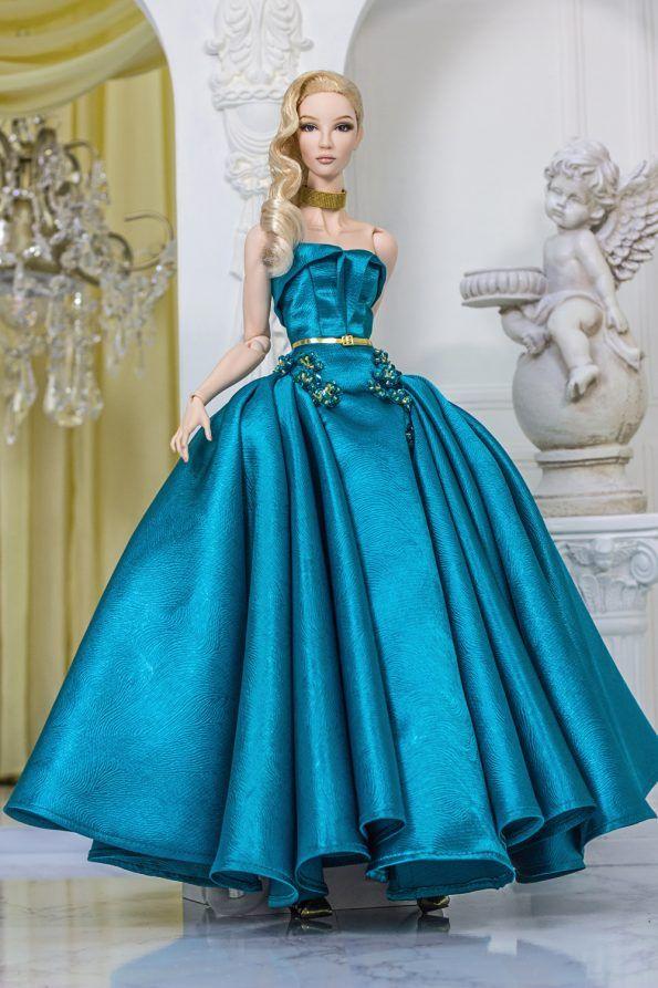 Барби в пышном платье картинки
