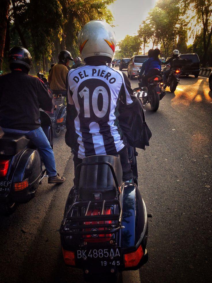 #VespaMedan #Indonesia #AlessandroDelPiero #ForzaJuve