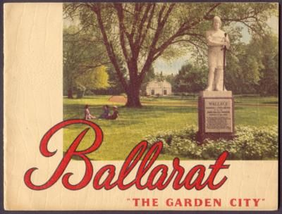 Ballarat Publicity Folder. Circa 1950