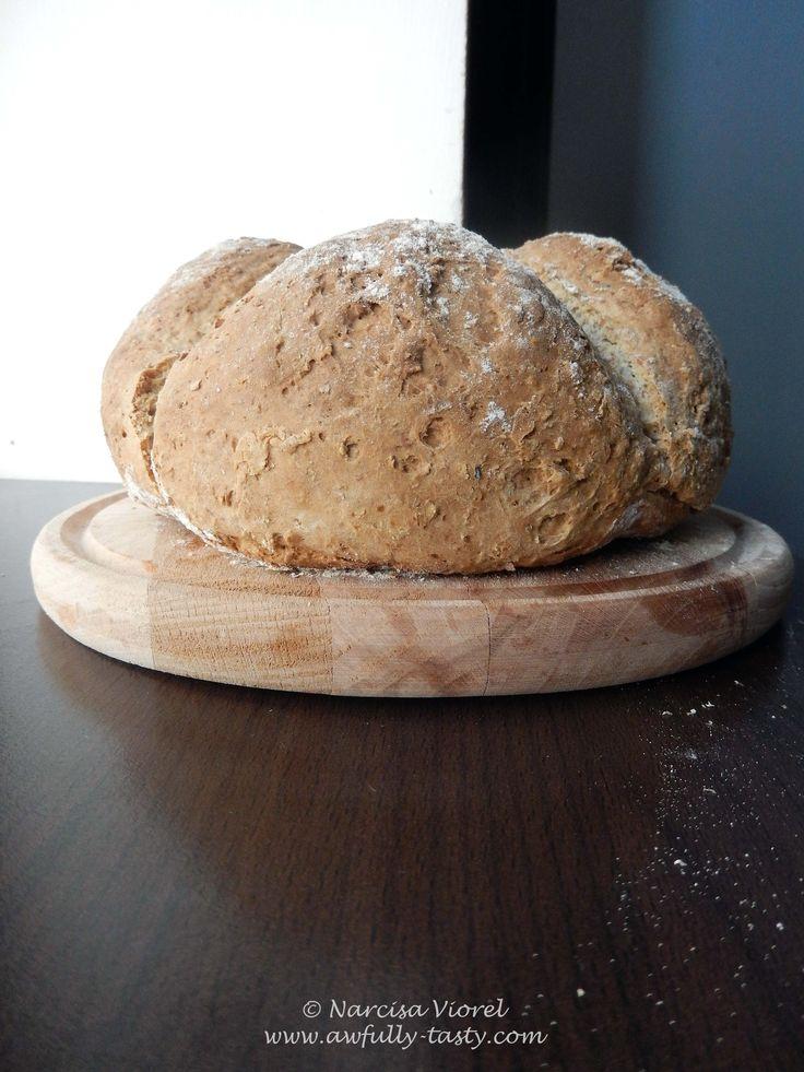 Soda bread. Paine cu bicarbonat.