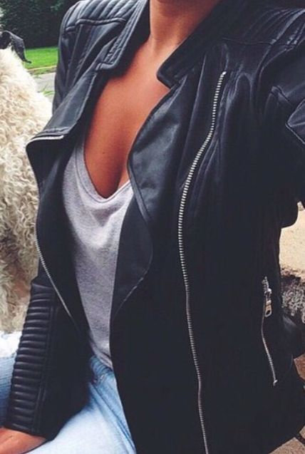 #street #style / leather