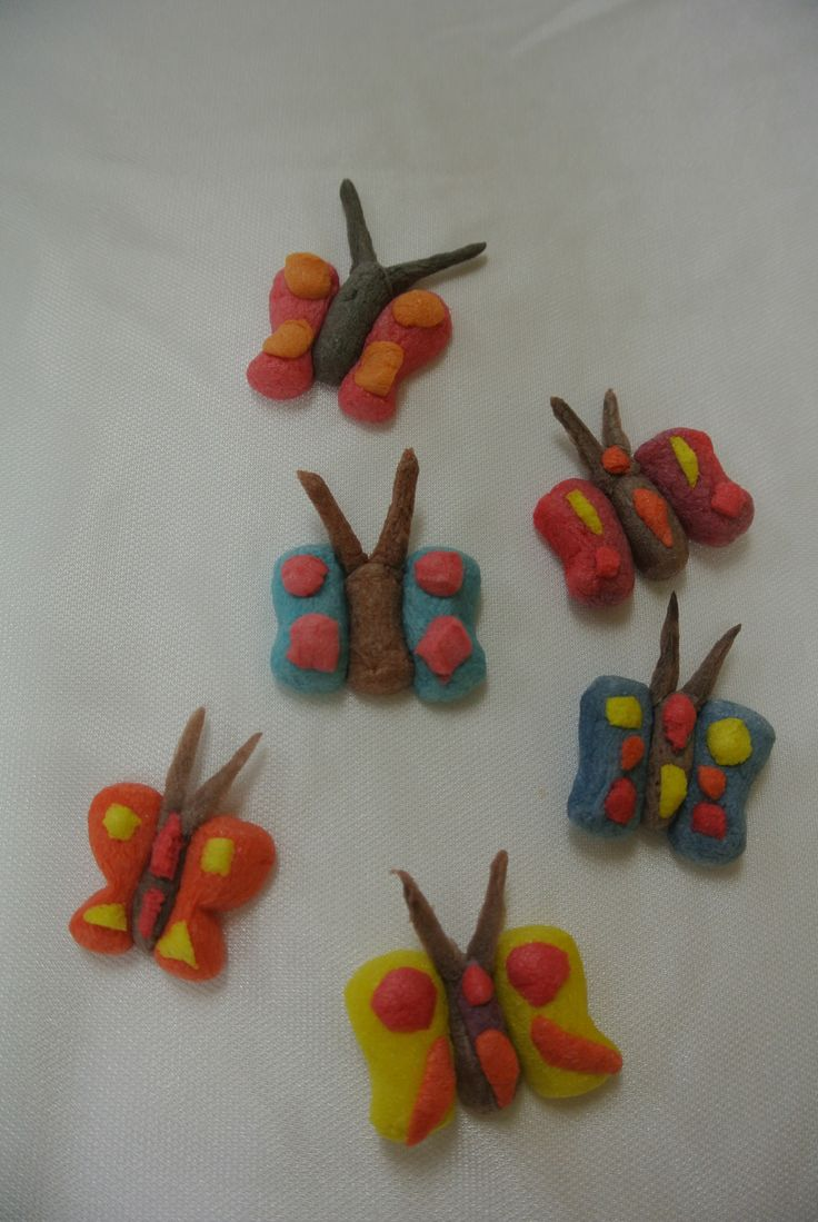 Lots of little butterflies!  Made with Magic Nuudles!