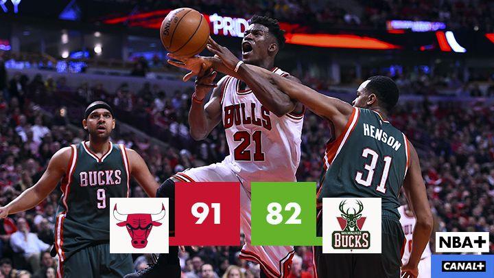 Bulls vencen y convencen 91-82 contra Bucks. 2-0 para Los Chigago Bulls @chicagobulls #nba #playoffs #2015 #nbaplayoffs2015