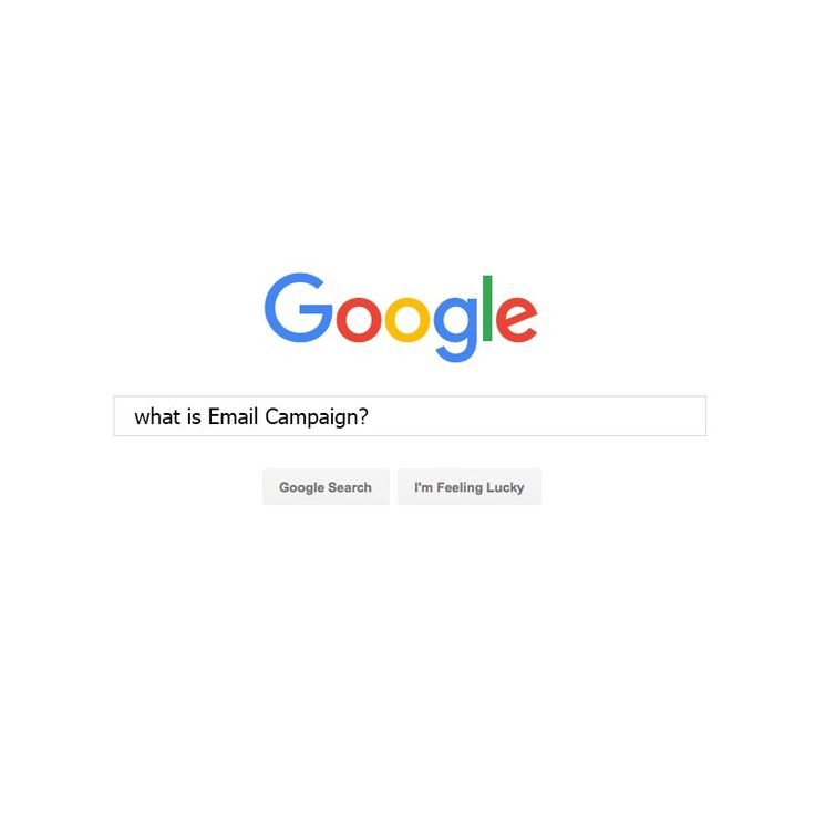 What is #Email #Cmapaign?search and #think. #gigin #culture