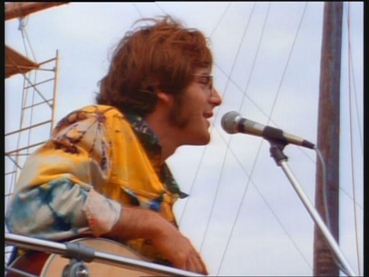 John Sebastian, at Woodstock