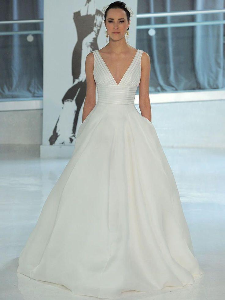 Peter Langner Spring 2018: Edgy and Elegant Wedding Dresses | TheKnot.com