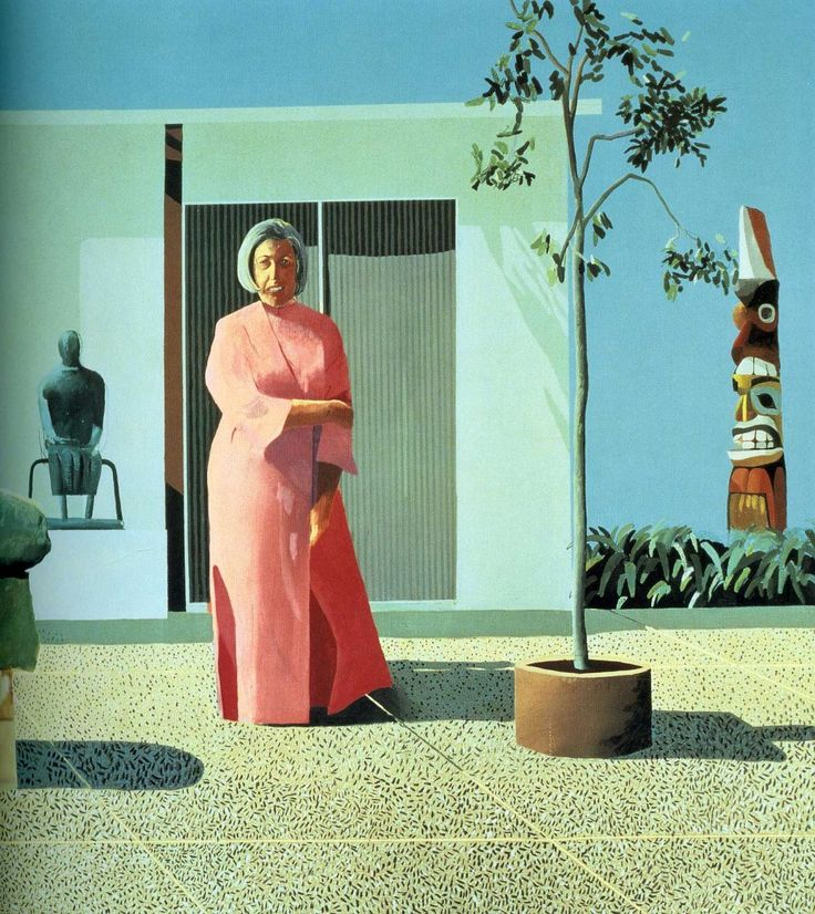 David Hockney ( b.1937, UK), English painter, printmaker, photographer and stage designer. Perhaps the most popular and versatile British artist of the 20th century