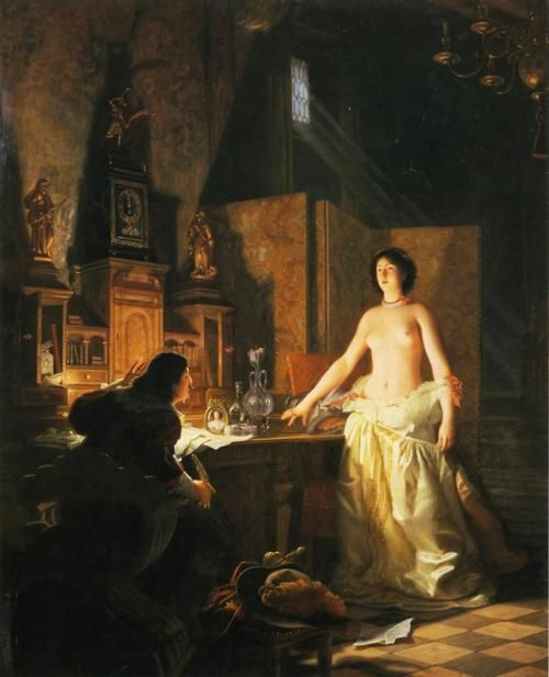 Jean Jules Antoine Lecomte du Nouy (1842-1923) - Mademoiselle de Maupin ______________________________ ♥♥♥ deniseweb.free.fr ♥♥♥