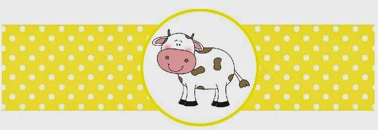 BulutsMom: Çiftlik Hayvanları Temalı Doğum Günü Etiketleri