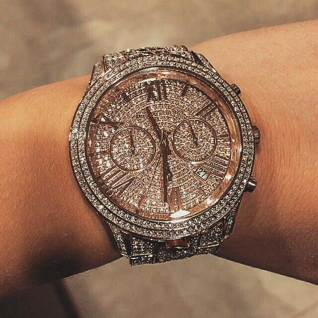 I love this Mk watch