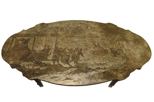 Philip and Kelvin Laverne Chinoiserie Coffee Table 1960sV M Furniture, Laverne Chinoiserie, Coffee Tables, Kelvin Laverne, Chinoiserie Coffee, Tables 1960S