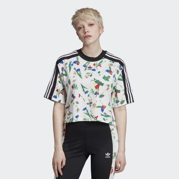 Incitar Si Armada  adidas Укороченная футболка Allover Print - разноцветный | adidas Россия in  2020 | Adidas crop, Celebrity casual outfits, Adidas floral