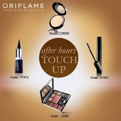 touch up... cocok buat habis kantor mau hang-out... lengkap...