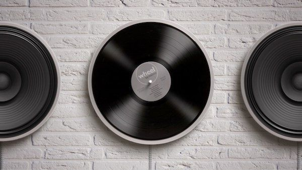 Wheel Minimal Record Player