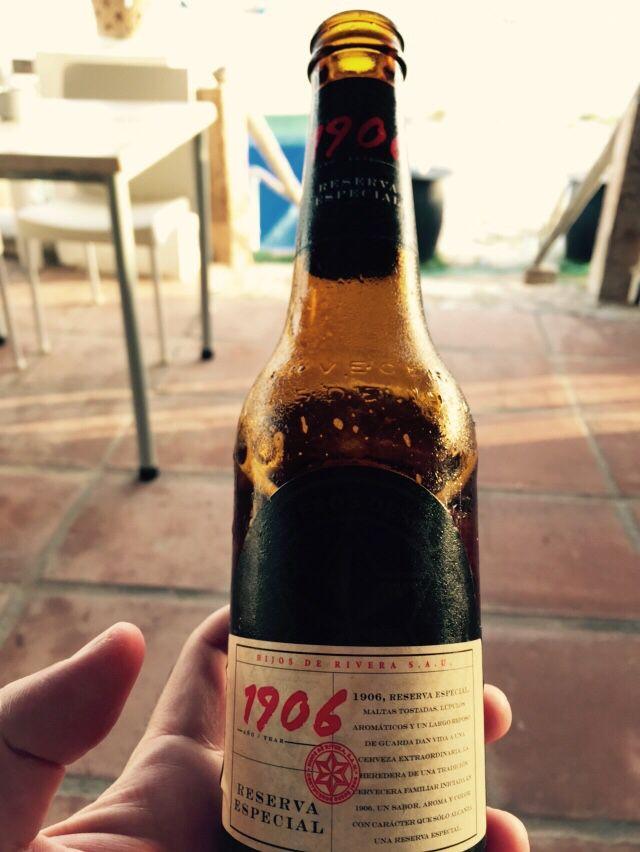 #Cerveza #1906 una delicia, con cuerpo.