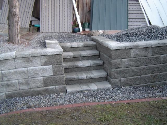 White Retaining Wall Blocks : Best images about retaining walls on pinterest