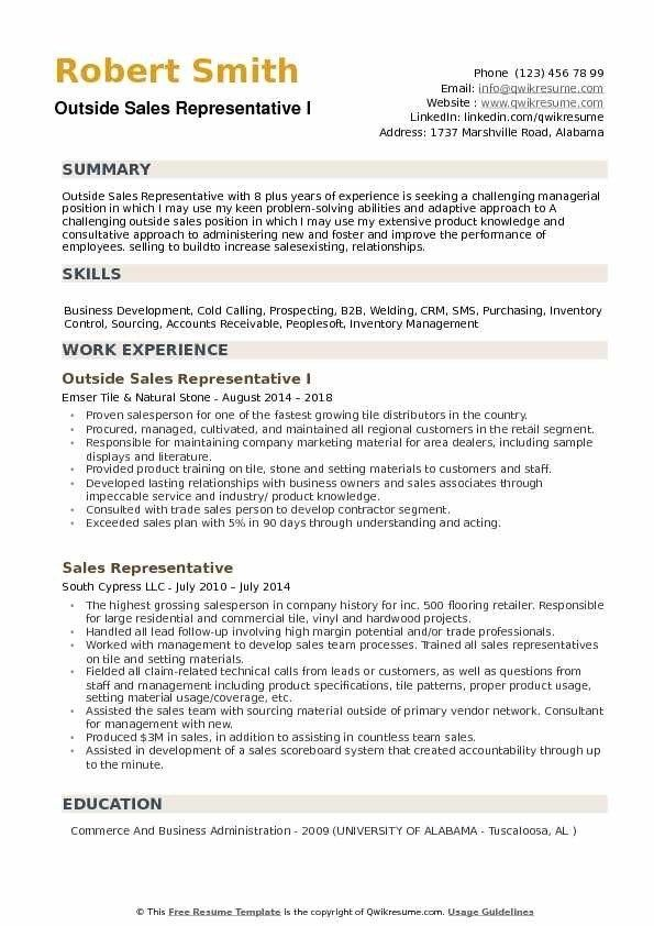 Outside Sales Representative Resume Samples Qwikresume Middle School Science Teacher Middle School Science Resume Examples