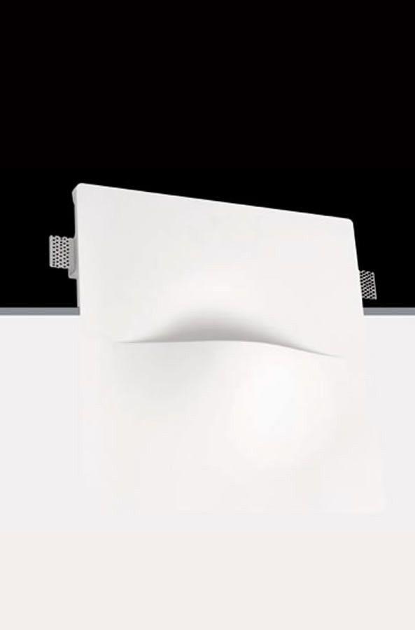 Señalizador de paredes de escayola invisible #yeso #escayola #señalizacion #iluminacion #decoracion #interiorismo