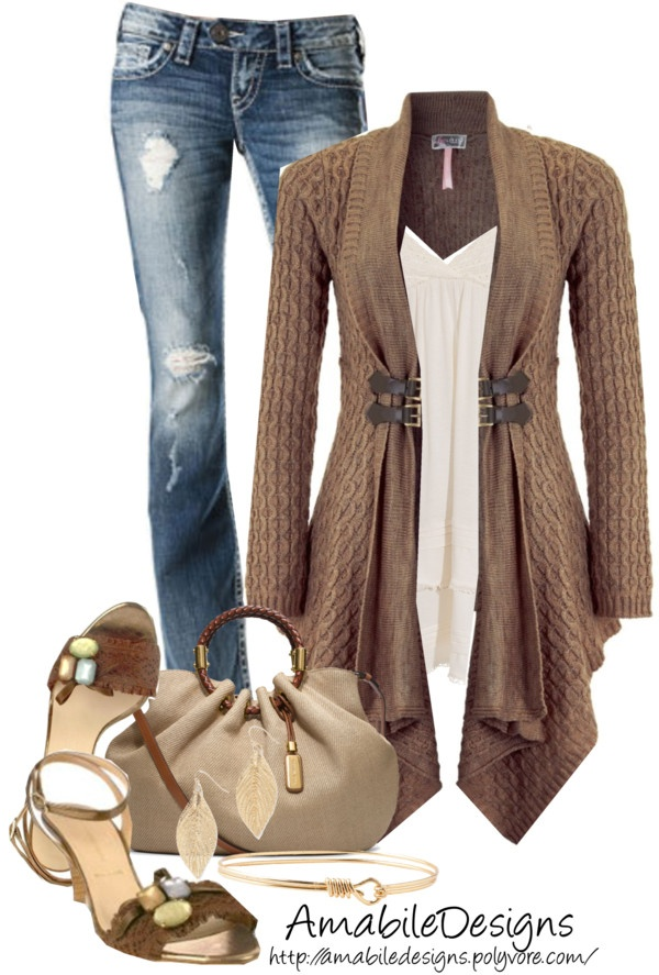 """""""Style this Cardigan"""" by amabiledesigns on Polyvore"""
