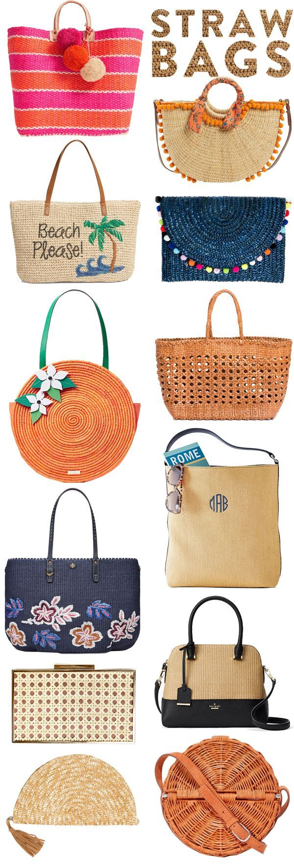 25+ best ideas about Straw bag on Pinterest | Basket bag, Trainer shops and  Beige women's trainers