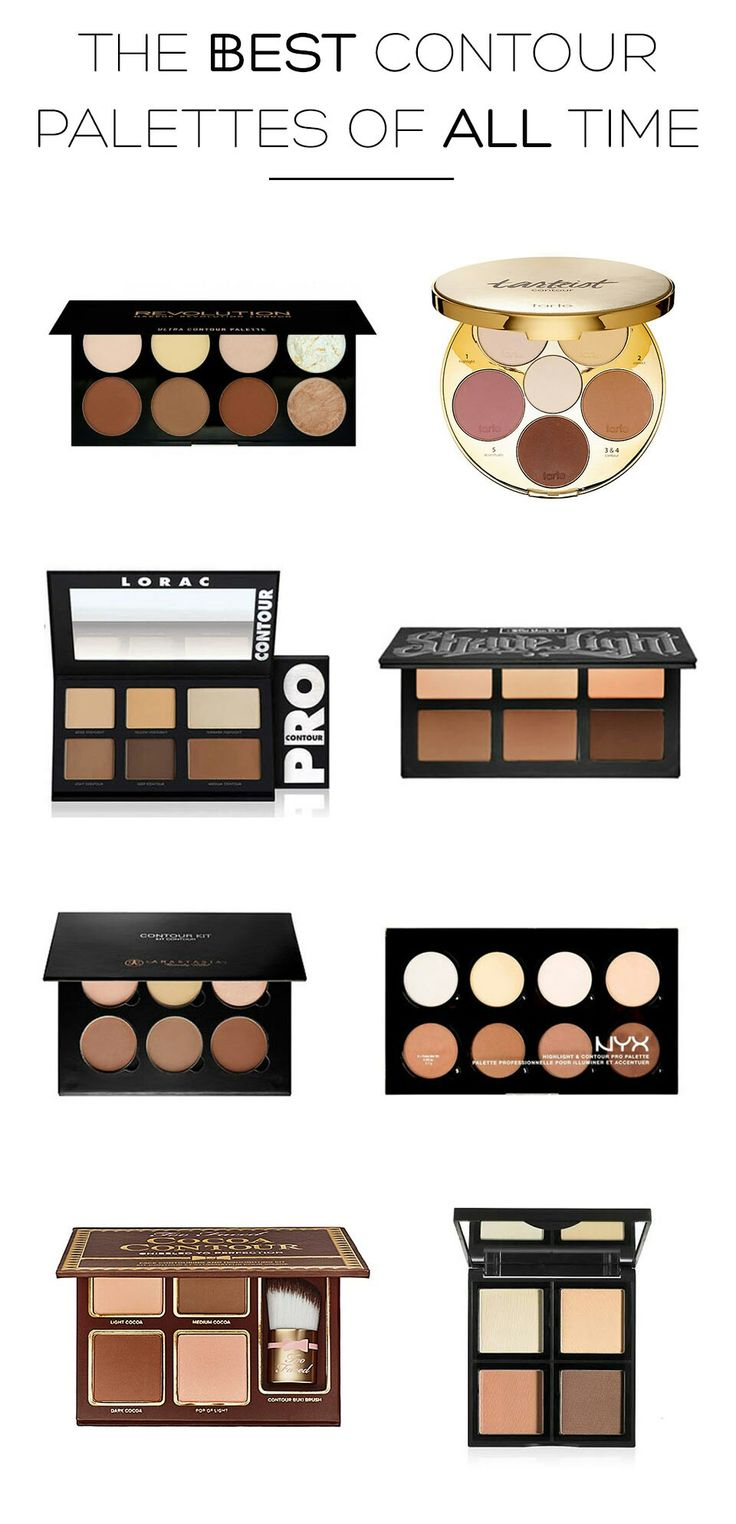 The Best Contour Palettes Of All Time