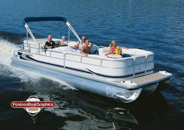 Best Striping Pontoon Boat Striping Images On Pinterest - Decals for pontoon boats