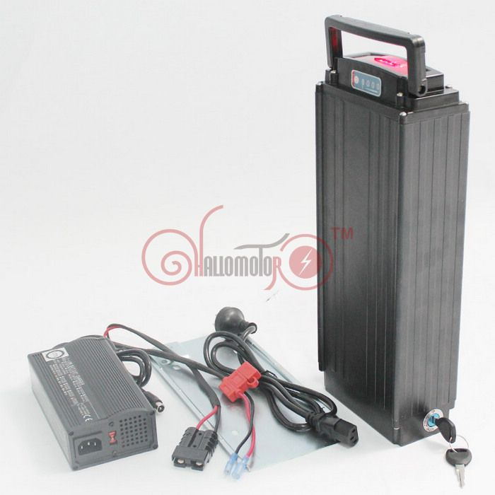 Clearance For Rear Carrier Lithium Battery S22P 36V 17.6AH Electric Bicycle Rear Rack Li-ion Polymer Battery