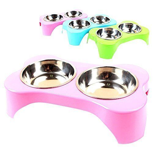 TopTops Elevated Dog and Cat Pet Feeder, Double Bowl Raised Stand Feeding Tray | Pet Supplies, Dog Supplies, Dishes, Feeders & Fountains | eBay!