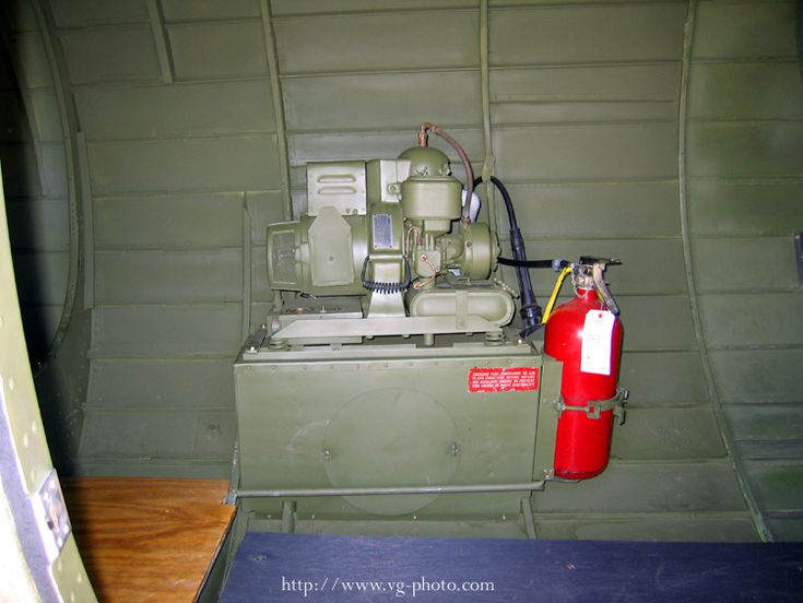 B-17 Auxiliary Power Unit