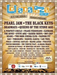 Lollapalooza 2013 Line-Up