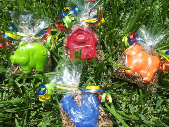 20 bags farm animals crayons party favors farm by perfectCRAYONS