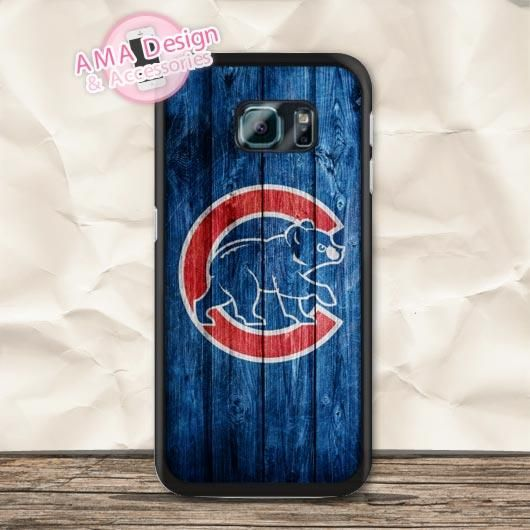 Chicago Cubs Baseball Fans Case For Galaxy S8 S7 S6 Edge Plus S5 mini S4 active Core Prime Win Ace Note 5 4
