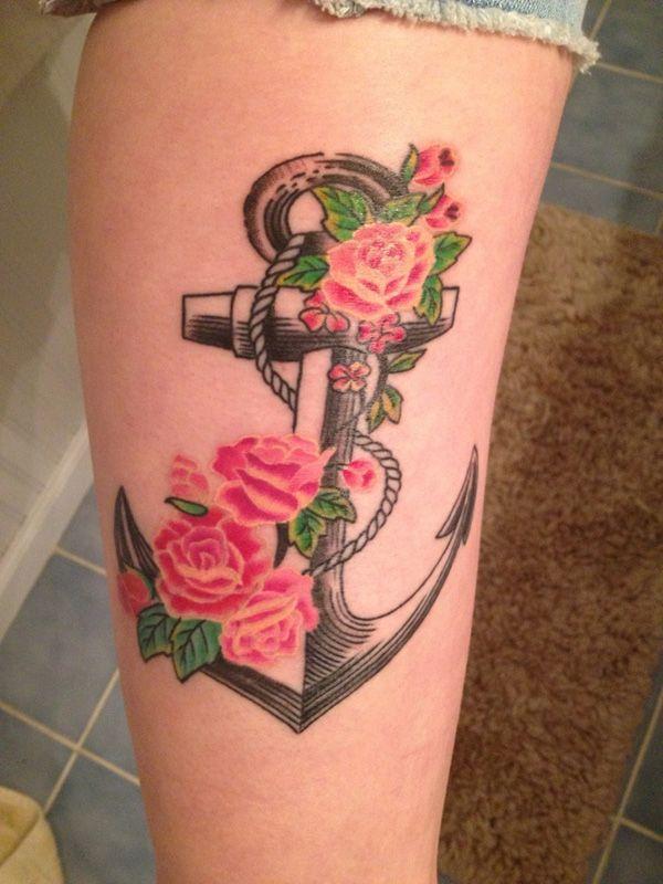 41 anchor tattoo