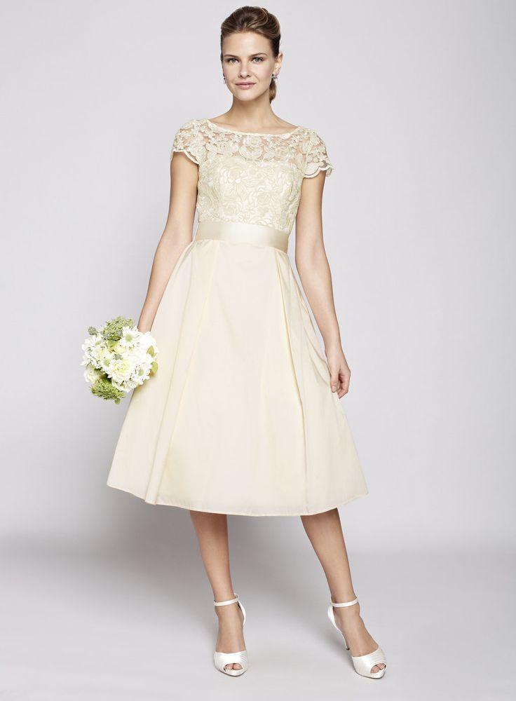 Champagne alice bridal dress bhs modellen r 175 cm s kl nningen blir ju l ngre br llop - Dressing modellen ...