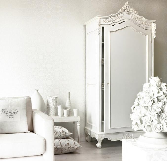 witte woonkamer met prachtige kast  White on White  Pinterest
