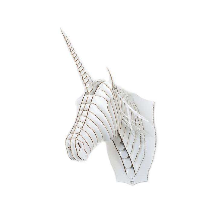 Jr. Merlin Unicorn Trophy White