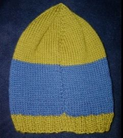 adult hat on straight needles Knit Pinterest Knitting, Hats and All things