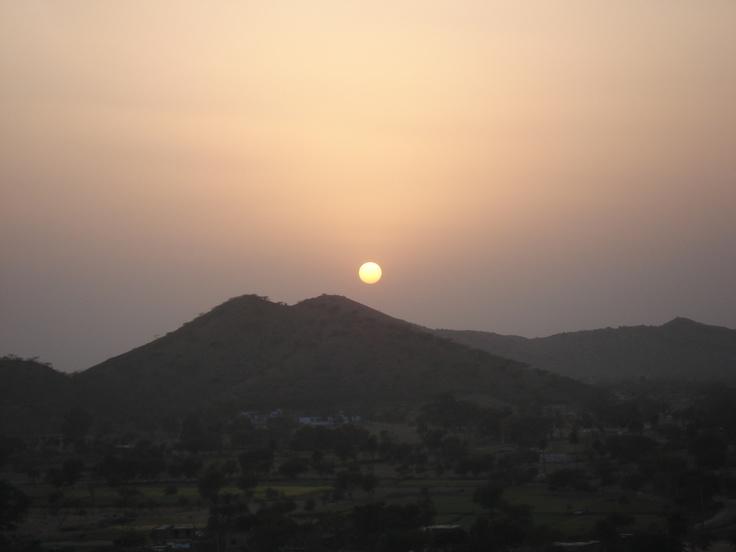 Sunset, Rajasthan