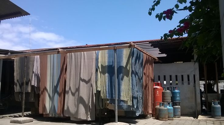 @ our natural dyeing factory:)