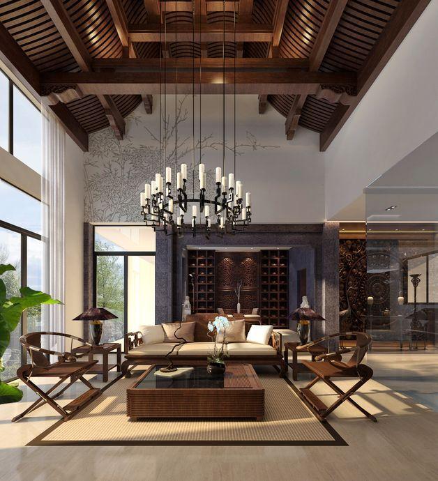 运河岸上的院子-中式风格-800平米六居室装修图片-北京装修设计-搜房网装修家居网