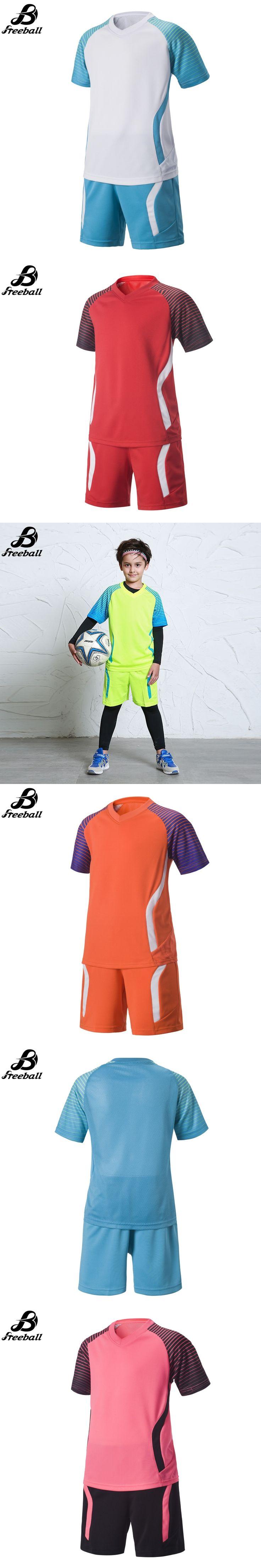 2016/17 boys football uniforms thai quality soccer jerseys for kids soccer kits new arrival