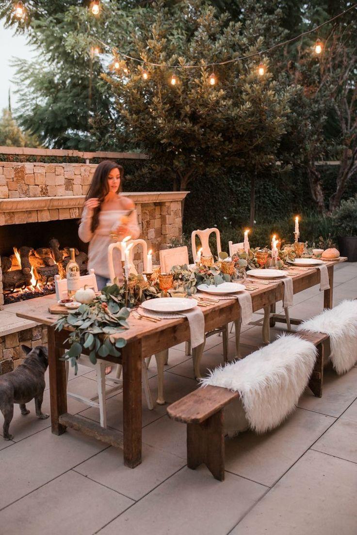 Outdoor Table Landscape #outdoor #table landscape