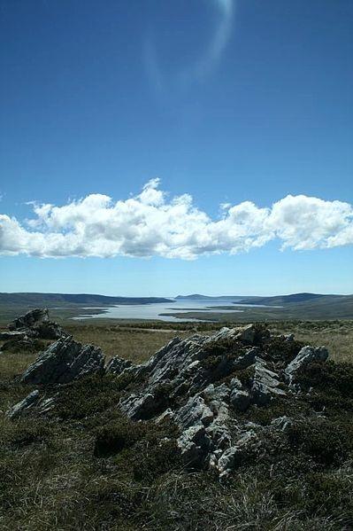 San Carlos Sound, Falkland Islands Photo by Chris Pearson